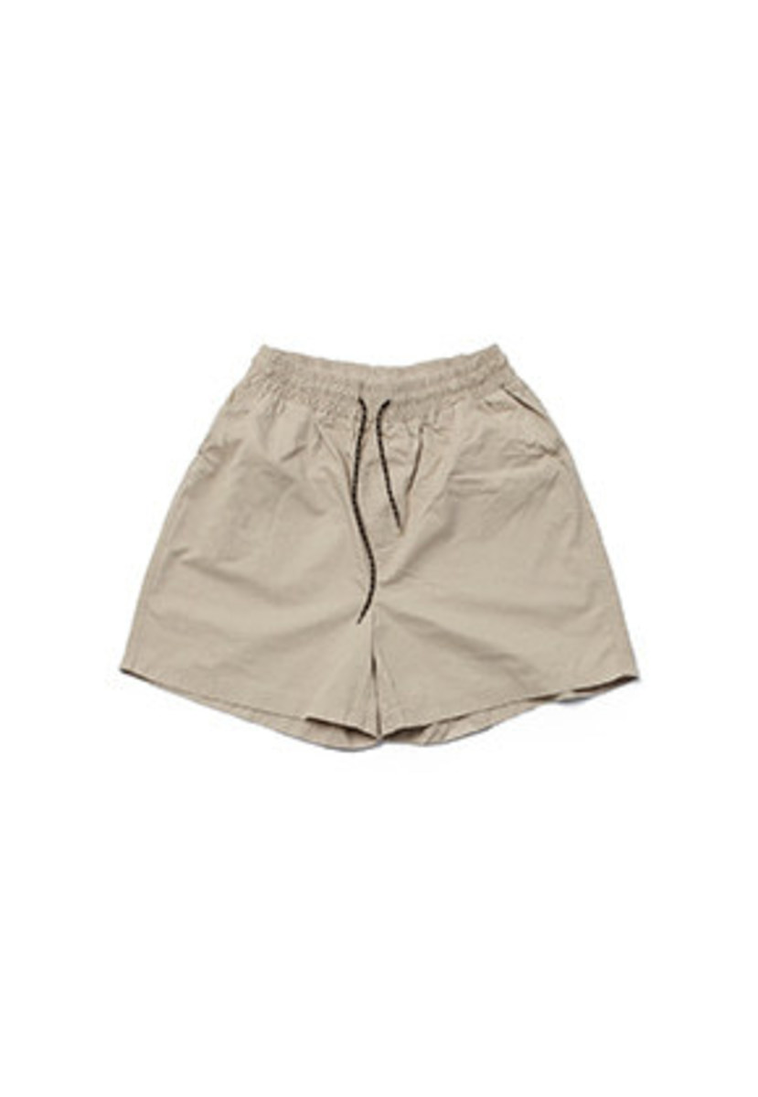 Realization리얼라이제이션 Washed Cotton Shorts [BEIGE]