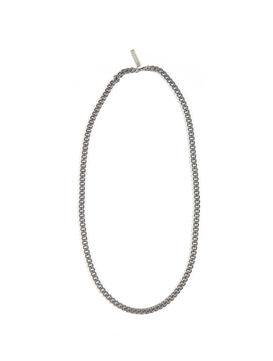 13Month써틴먼스 BOLD CHAIN NECKLACE (SILVER)