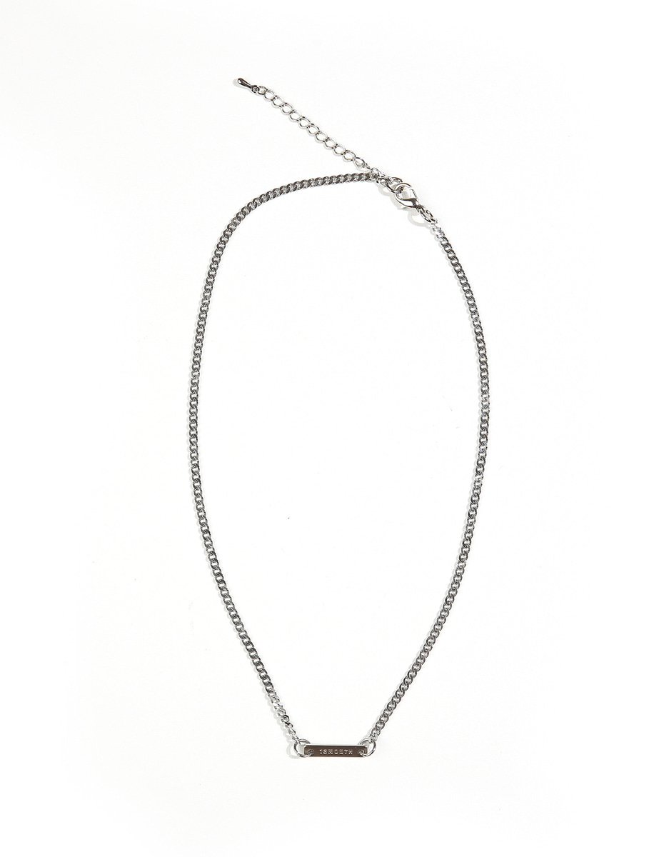 13Month써틴먼스 THIN CHAIN NECKLACE (SILVER)