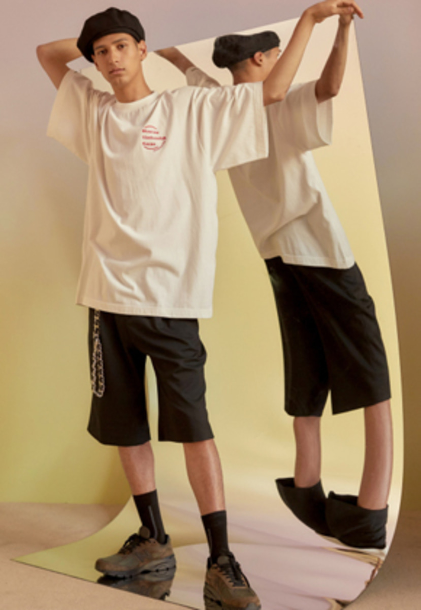 Anderssonbell앤더슨벨 UNISEX CITY SERIES OVERSIZED T-SHIRT atb212u(Off White)