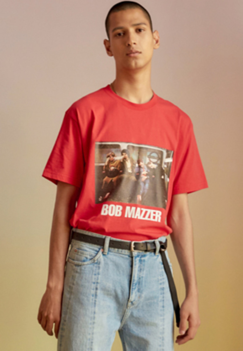 Anderssonbell앤더슨벨 UNISEX BOB MAZZER COLLABORATION T-SHIRT atb210u(Red)