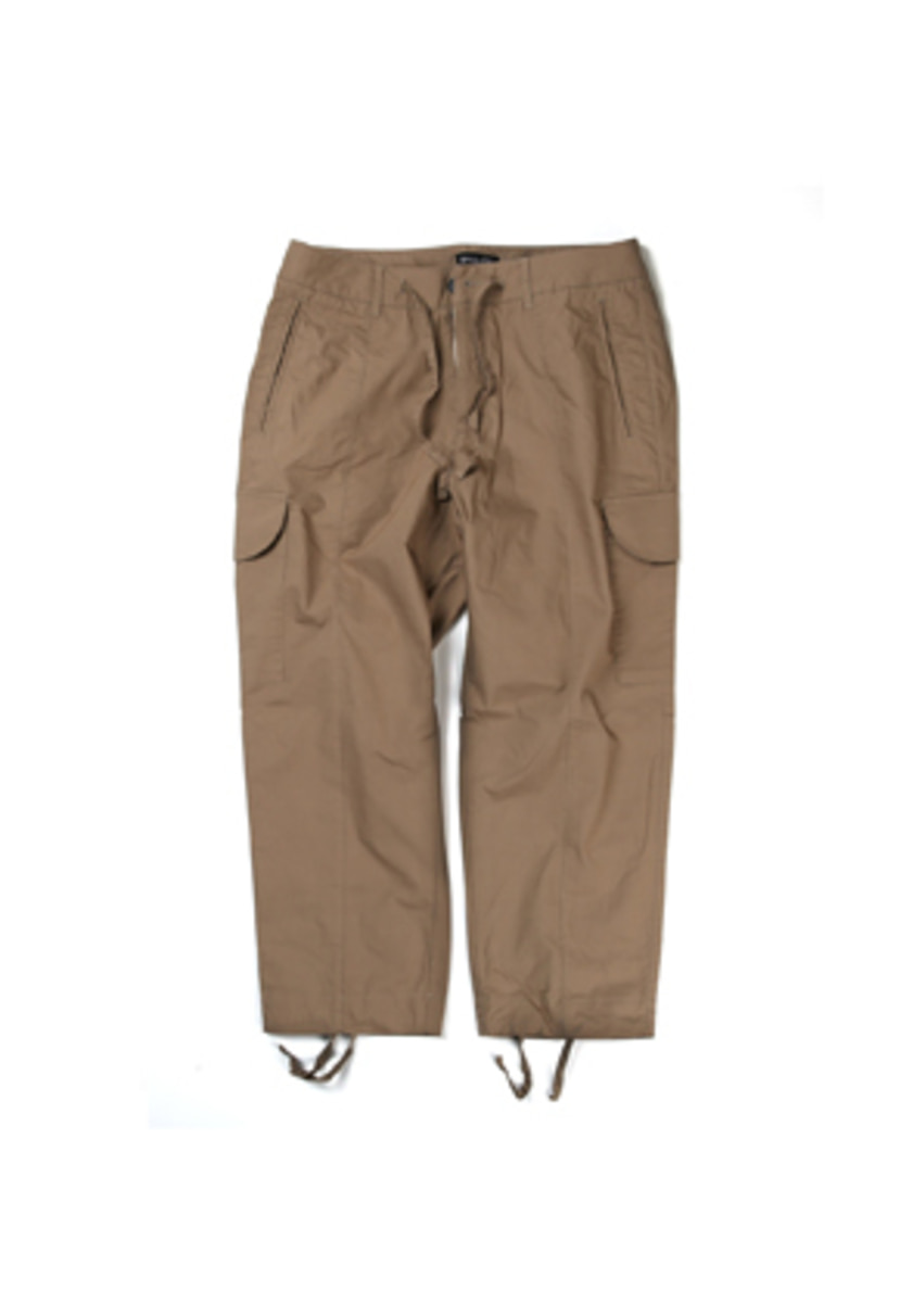 Ballute발루트 STRING CROPPED CARGO PANTS (beige)