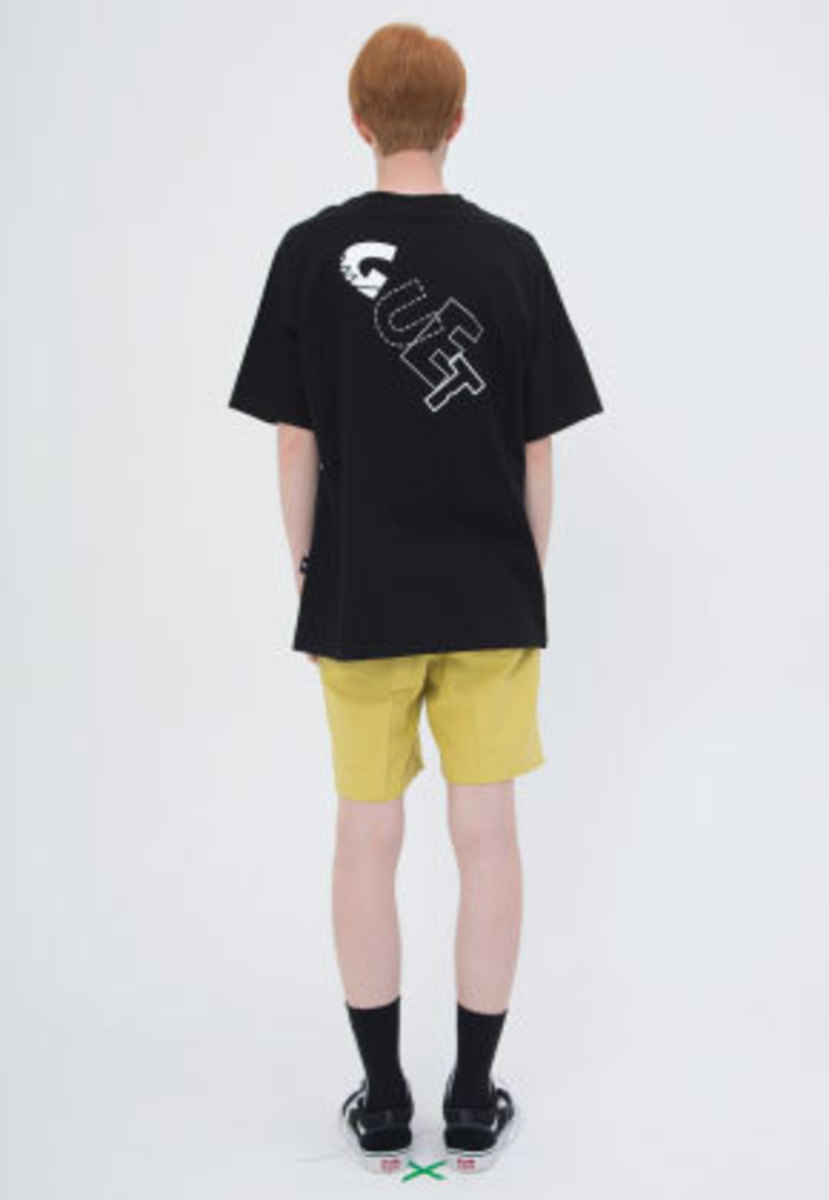 Muguet뮤게 BACK PRINT T-SHIRTS (BLACK)