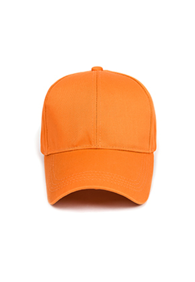 Yan13얀써틴 MINIMAL 3-PIN BALL CAP_ORANGE