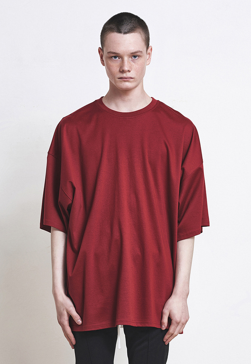 D.prique디프리크 Oversized T-shirt Red