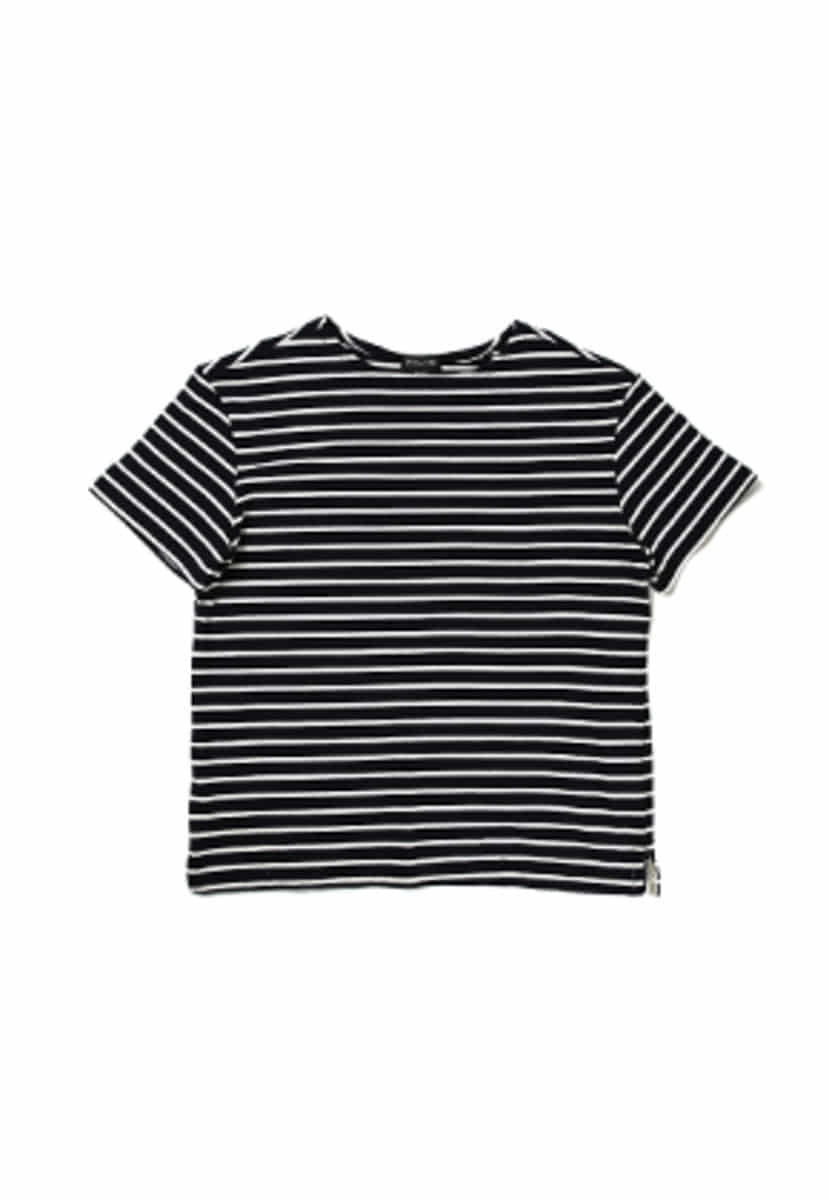 Ballute발루트 FRENCH NAVAL SHORT SLEEVES (STRIPE NAVY)