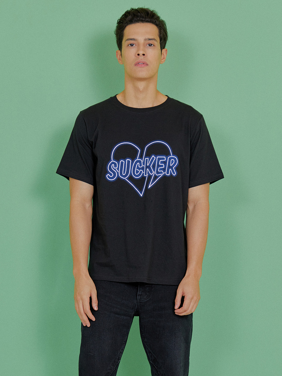 INDIGO CHILDREN인디고칠드런 SUCKER T-SHIRT [BLACK]