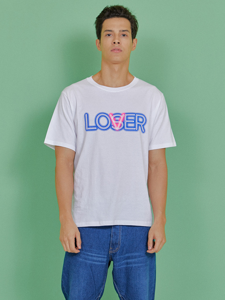 INDIGO CHILDREN인디고칠드런 LOVER T-SHIRT [WHITE]