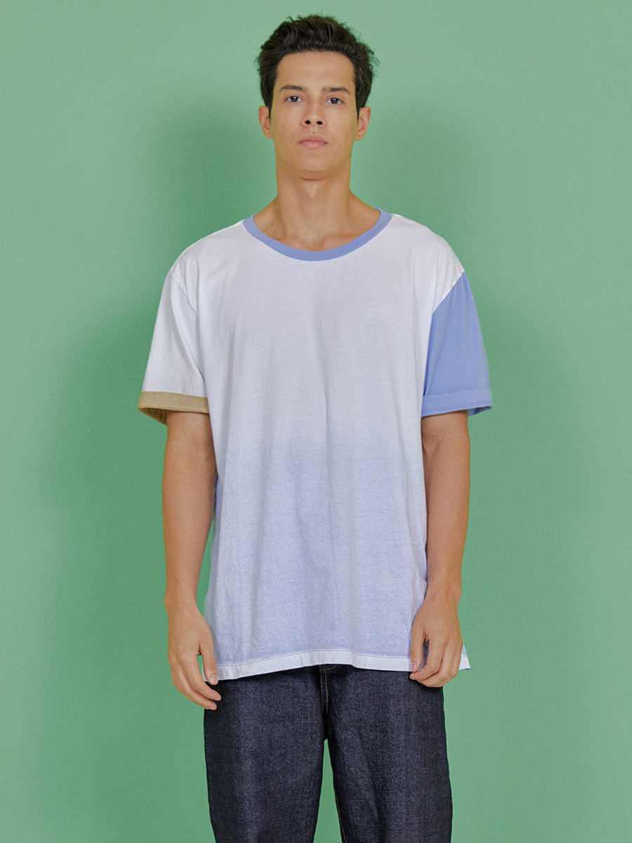 INDIGO CHILDREN인디고칠드런 MULTI DYED T-SHIRT [MULTI]