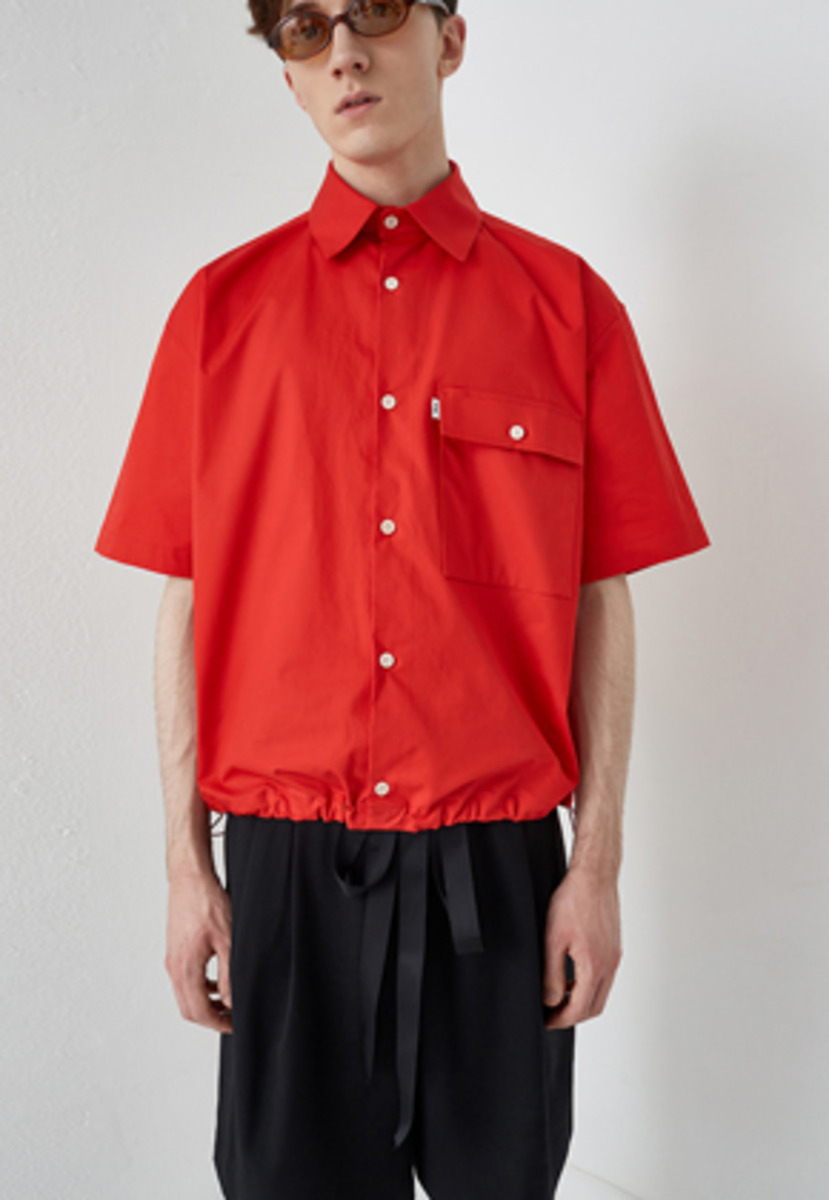 PIKHOUSE픽하우스 MALE Shirts Red (re worked)