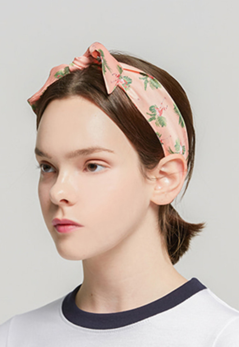 Romantic Crown로맨틱크라운 Flamingo Hairband_Pink