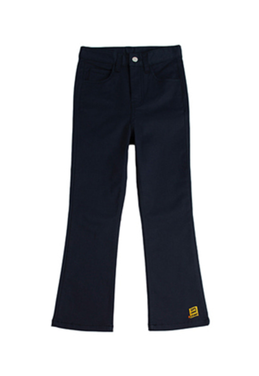 Romantic Crown로맨틱크라운 Ambroid Boots Cut Slacks_Navy
