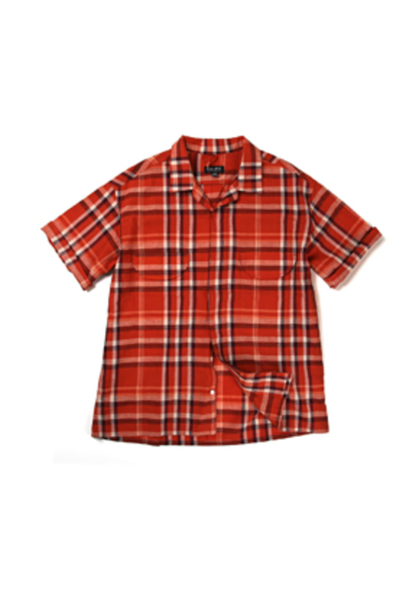 Ballute발루트 FRENCH EASY HALF SHIRT (ORANGE)