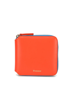 Fennec페넥 COMBI ZIPPER WALLET 001 NEON ORANGE