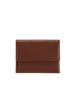Fennec페넥 MEN SNAP CARD WALLET - BROWN