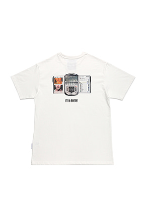 AJO BY AJO FINK LABEL Eyebeam T-Shirt[White]