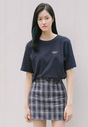 Sinoon시눈 basic tshirt (navy)