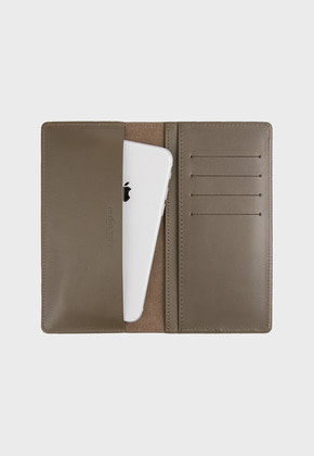 Ordinauty오디너티 AMERICANO GRAY (Buttero, Italy vegetable leather)