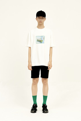 SEC세크 Oh, Holiday T-Shirt _ Kelly Green Frame
