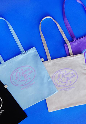 NEONMOON네온문 NEW LOGO COLOR BAG