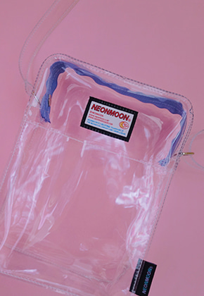 NEONMOON네온문 CLEAR MINI CROSS BAG