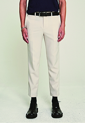 Deans딘스 [DEANS] CLEAN STRAIGHT SLACKS_LIGHT BEIGE