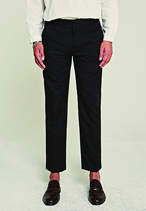 Deans딘스 [DEANS] BASE STRAIGHT FIT SLACKS_NAVY