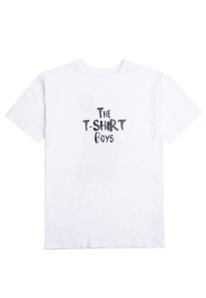 XYZ UNISEX THE T-SHIRT BOYS - WHITE