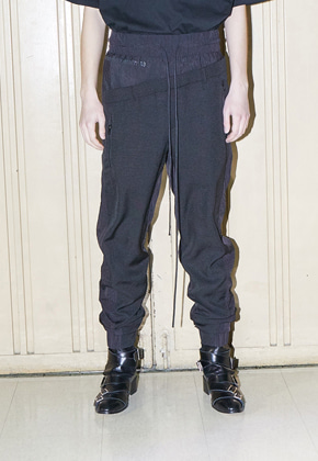 SOUNDS BMUET(TE)사운즈 비뮈에트 SHIRRING DETAIL TRACK PANTS