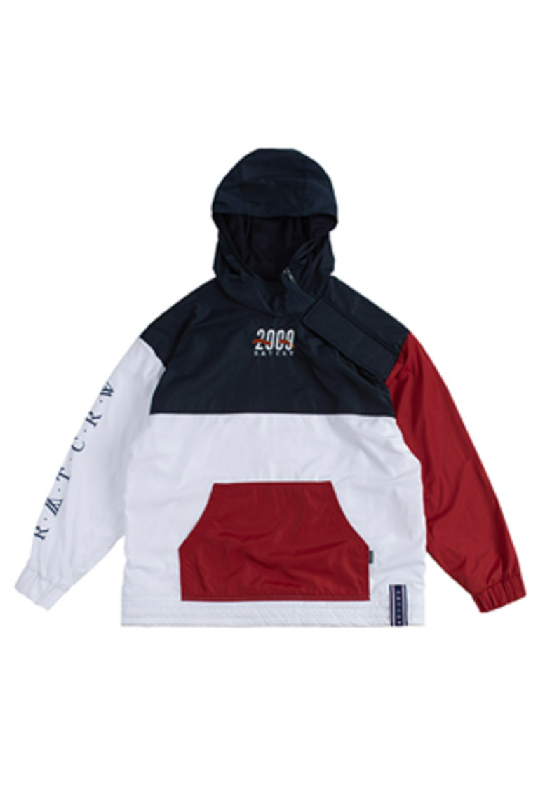 Romantic Crown로맨틱크라운 2009 Side Zip Up Anorak_White