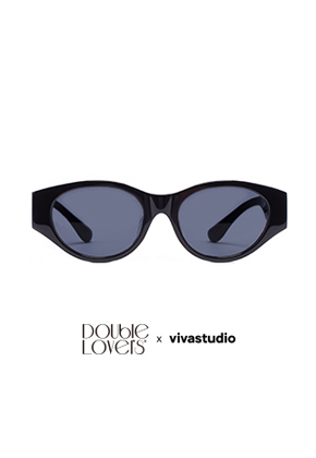 Double Lovers더블러버스 DOUBLE LOVERS x VIVASTUDIO WHISKEY[WISS-key] (Black)