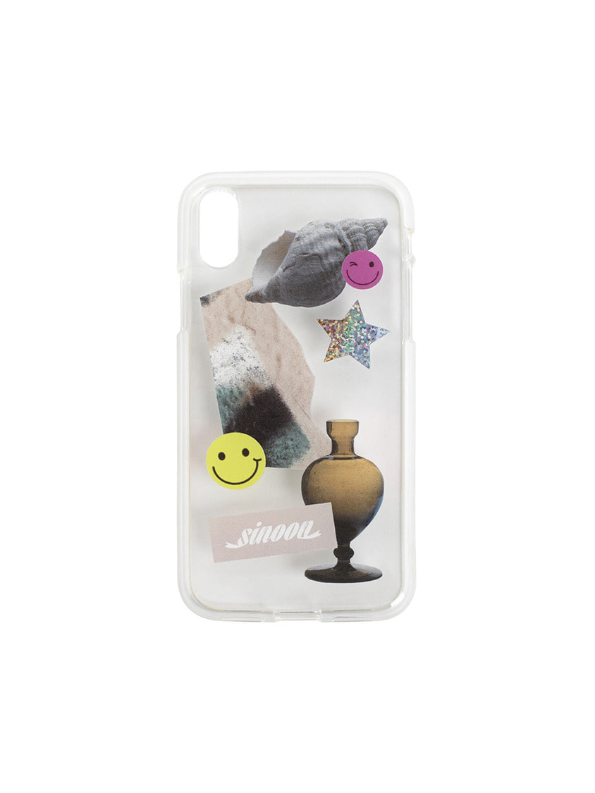 Sinoon시눈 Collage jelly case (smile)