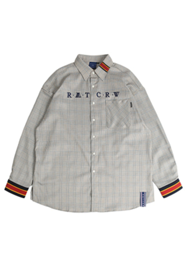 Romantic Crown로맨틱크라운 RMTCRW Glen Check Shirt_Beige