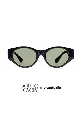 Double Lovers더블러버스 DOUBLE LOVERS x VIVASTUDIO WHISKEY[WISS-key] (Black Khaki)
