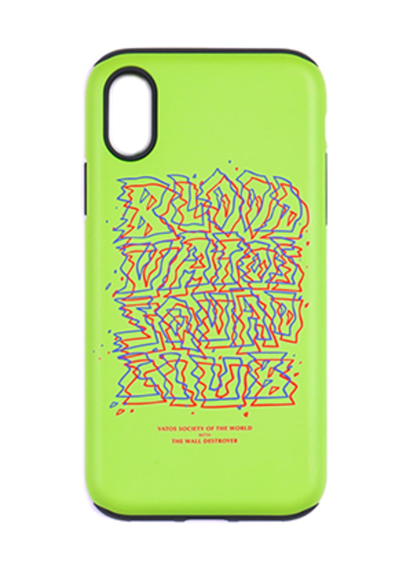 Stigma스티그마 PHONE CASE PRIZM NEON GREEN iPHONE 8 / 8+ / X