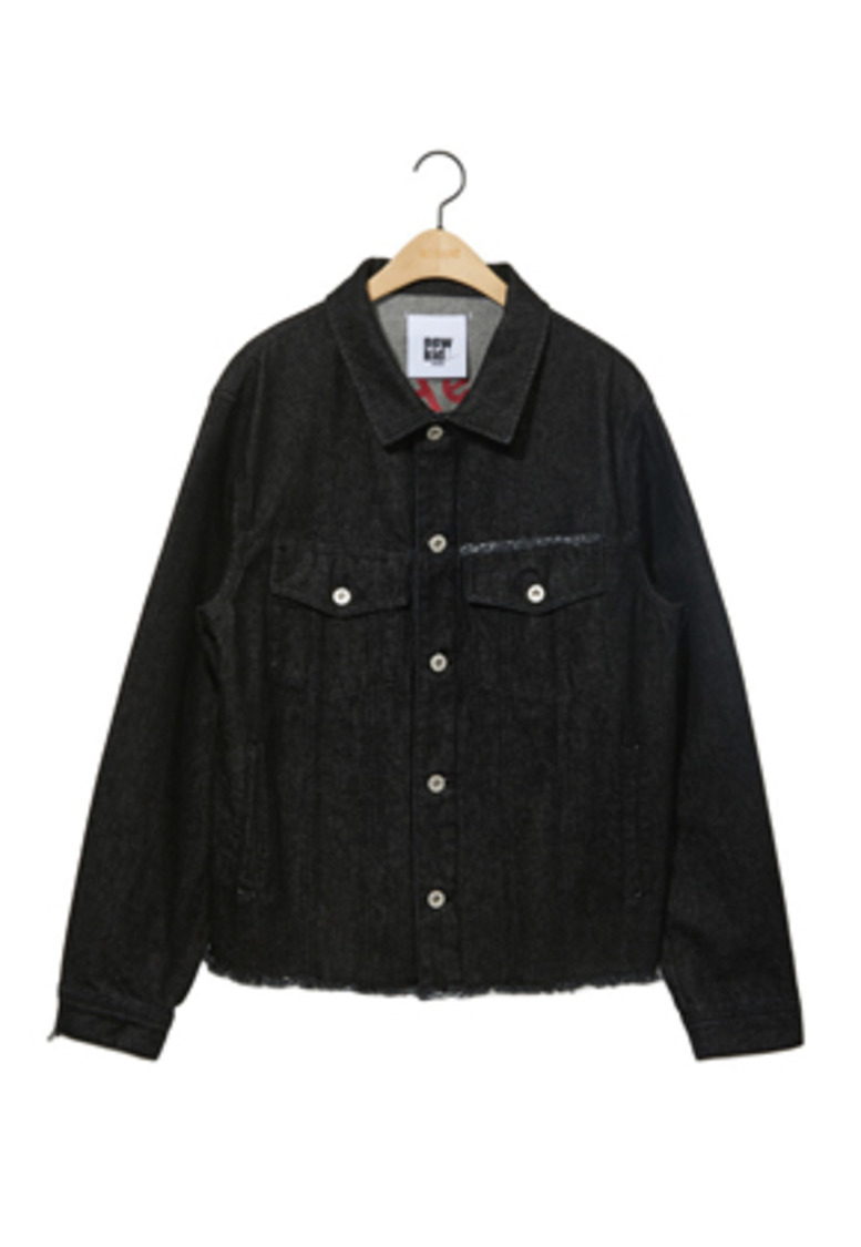 NOHANT노앙 DENIM JACKET BLACK
