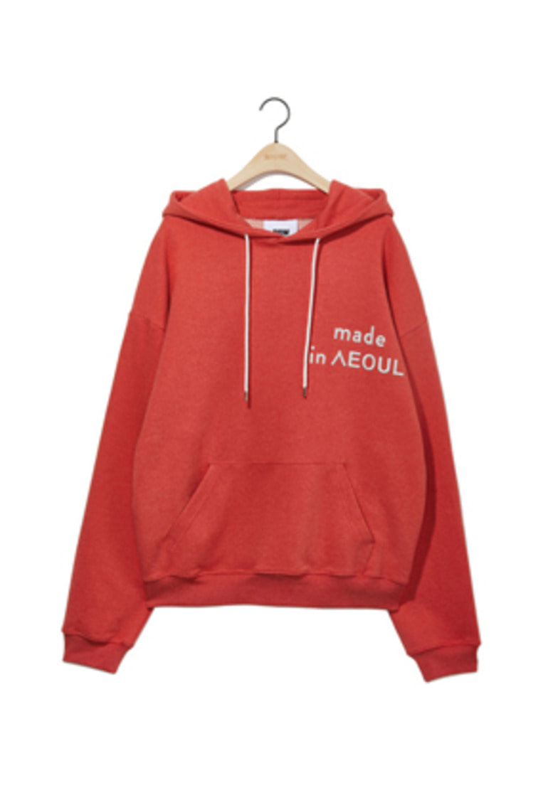 NOHANT노앙 MADE IN SEOUL HOODIE ORANGE