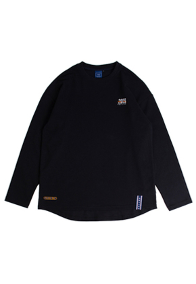 Romantic Crown로맨틱크라운 2009 Flag Long Sleeve_Navy