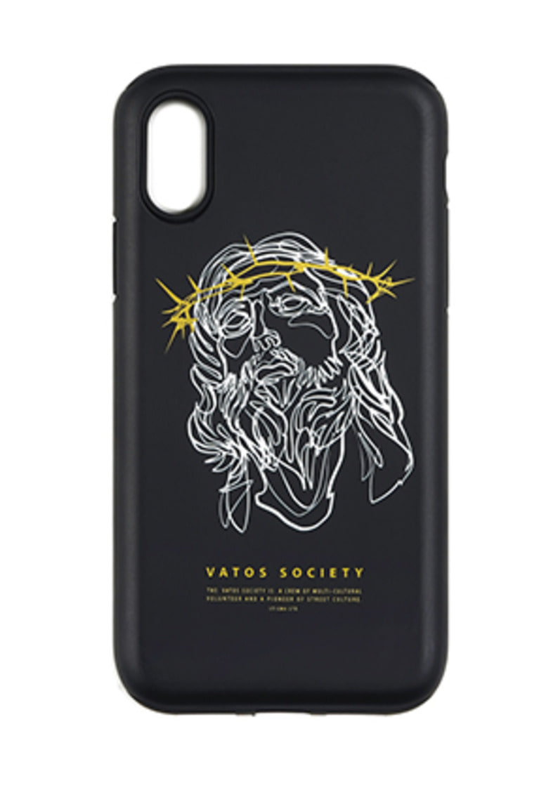 Stigma스티그마 PHONE CASE JESUS ver.2 BLACK iPHONE 8 / 8+ / X