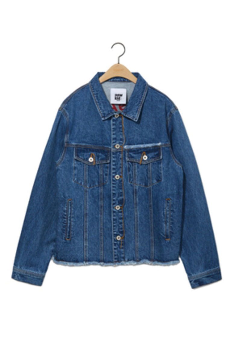 NOHANT노앙 DENIM JACKET MID BLUE