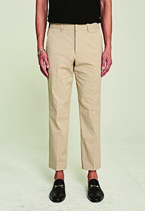 Deans딘스 [DEANS] SIDE BANDING SLACKS_BEIGE