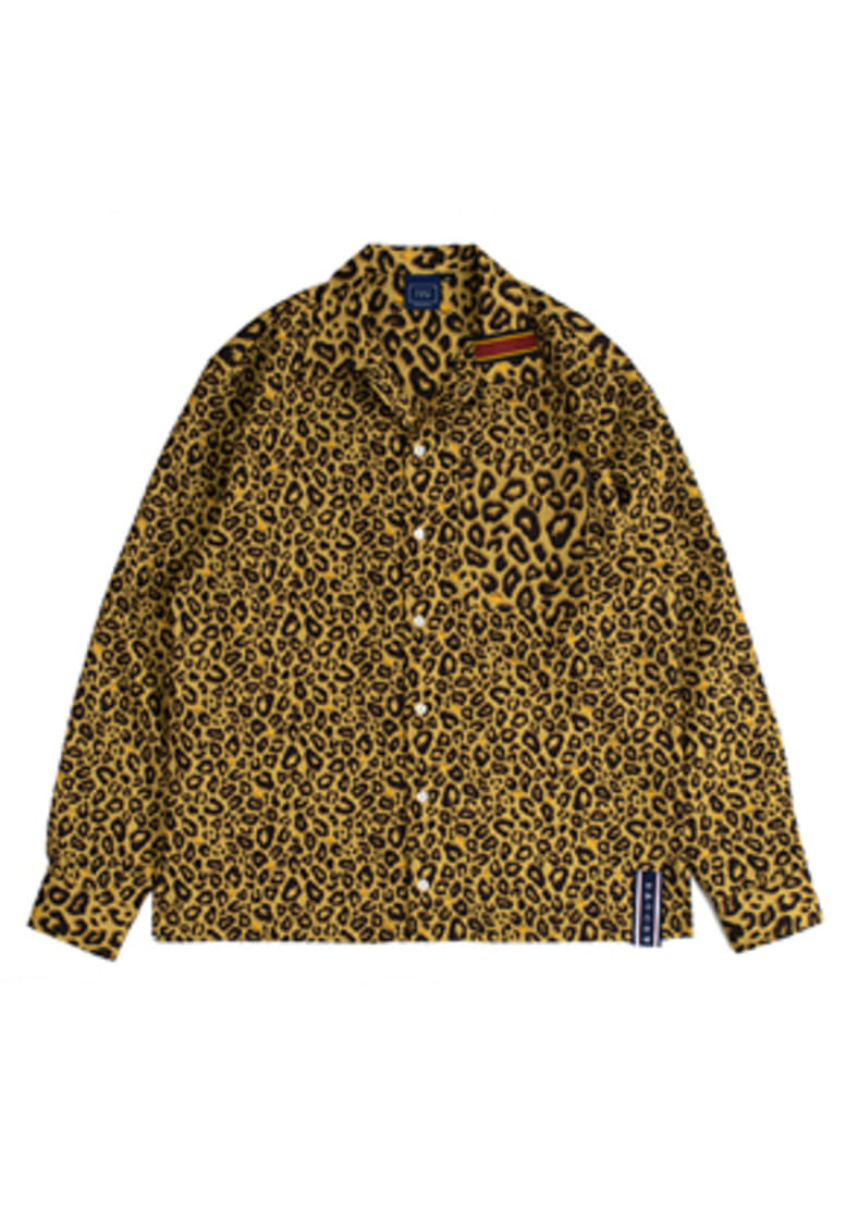 Romantic Crown로맨틱크라운 Leopard Shirt_Brown