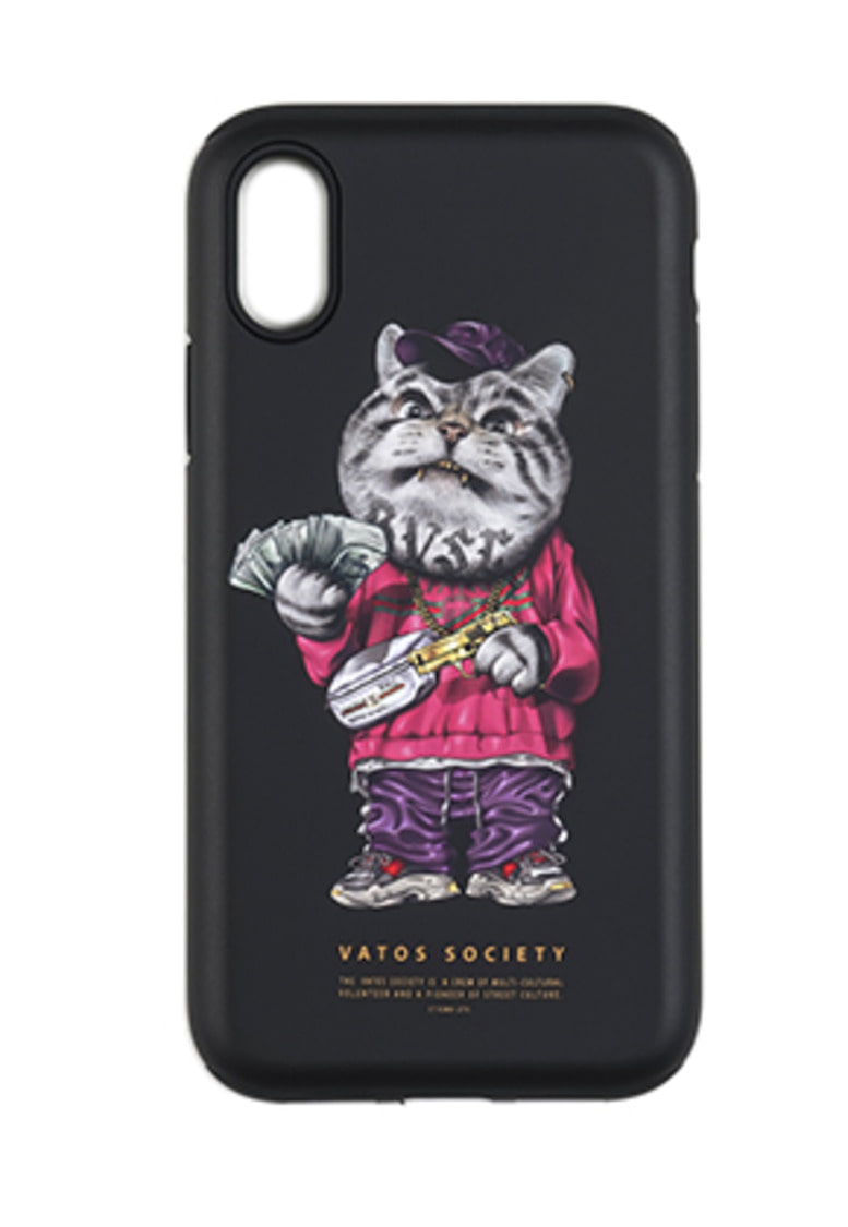 Stigma스티그마 PHONE CASE CATSGANG BLACK iPHONE 8 / 8+ / X