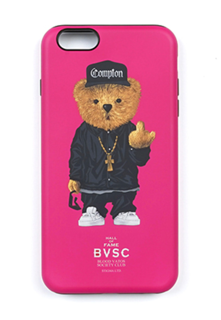 Stigma스티그마 PHONE CASE COMPTON BEAR PINK iPHONE 8 / 8+ / X