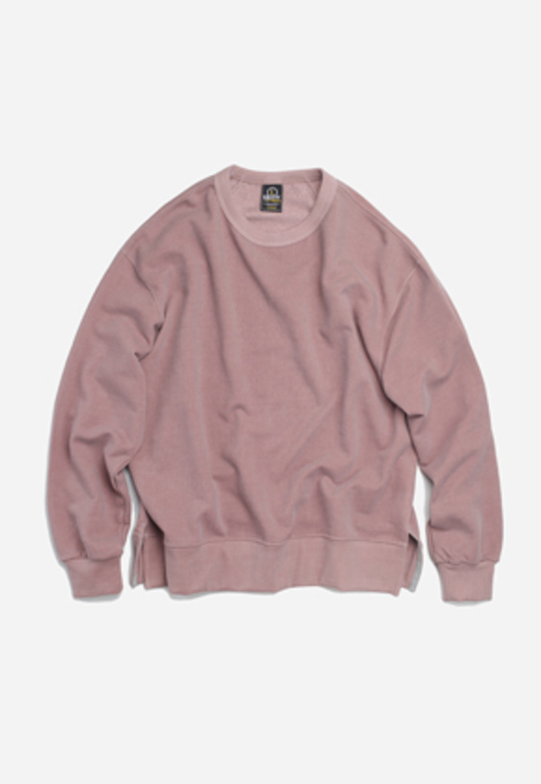 FRIZMWORKS프리즘웍스 Pigment sweat shirt _ pink