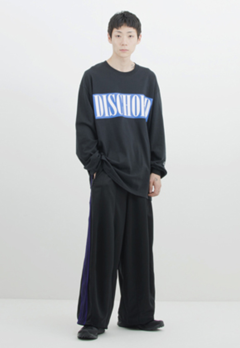 Gakuro가쿠로 'Dischord' T-Shirt (Black)