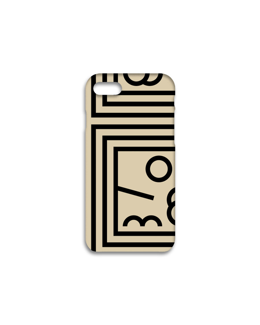 THREE TO EIGHTY쓰리투에이티 Harmony Classic iPhone case - Beige / 2차입고