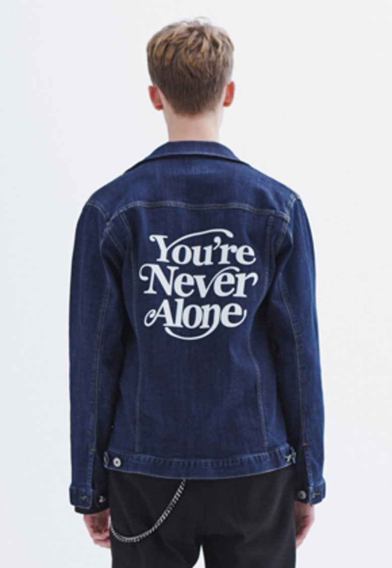 MMGL미니멀가먼츠랩 YNA denim jacket (Blue)