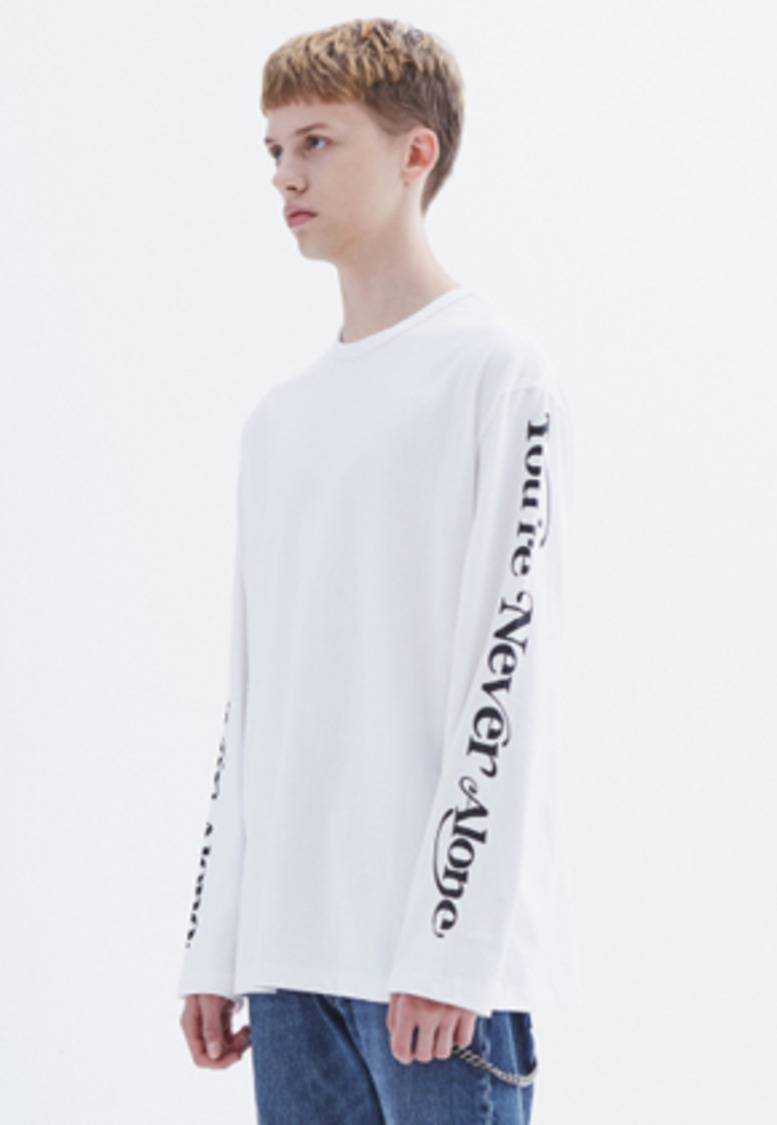 MMGL미니멀가먼츠랩 YNA long-sleeve T-shirt (White)