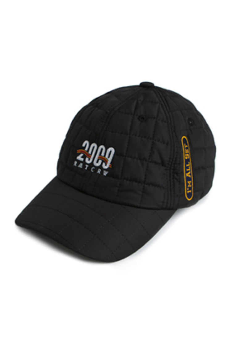 Romantic Crown로맨틱크라운 2009 Quilting Ball Cap_Black